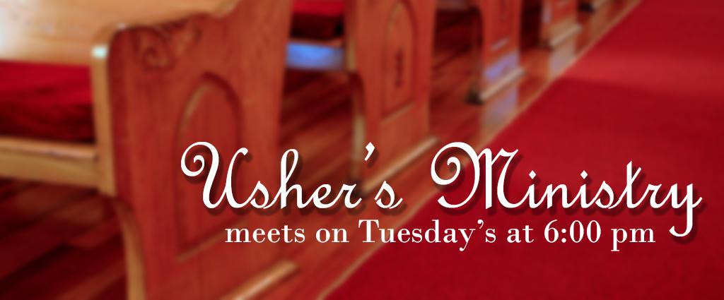 Ushers-Ministry